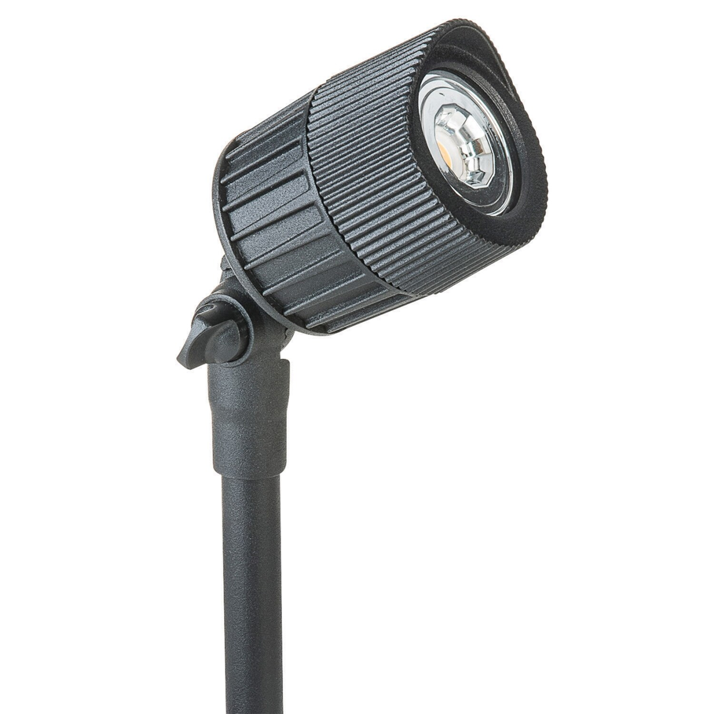 Paradise  Black  Low Voltage  20 watts LED  Bollard Light  1 pk