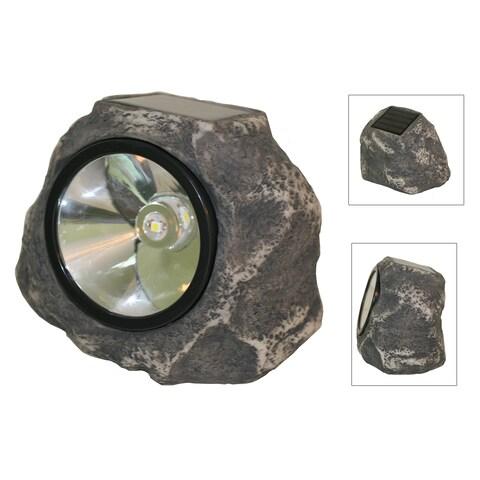 Smart Solar 3345WRM1 Solar Rock Light
