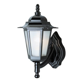 Bel Air Lighting CB-4055-BK 14-inch Black Outdoor Wall Fixture