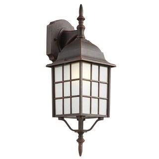 "Bel Air Lighting CB-4420-1RT 19"" Rustic Wall Lantern Fixture https://ak1.ostkcdn.com/images/products/11807074/P18715232.jpg?_ostk_perf_=percv&impolicy=medium"