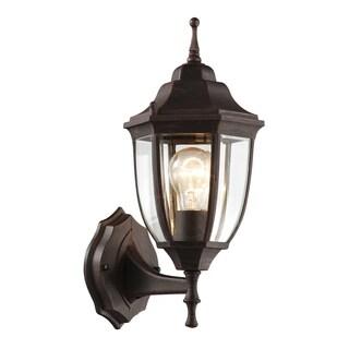 "Bel Air Lighting CB-4470T-RT 15-3/4"" Rustic Lantern Wall Fixture"