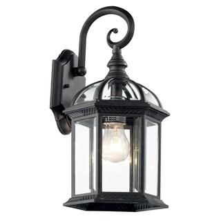 Bel Air Lighting CB-4181-BK 16-inch Black Outdoor Lantern Fixture