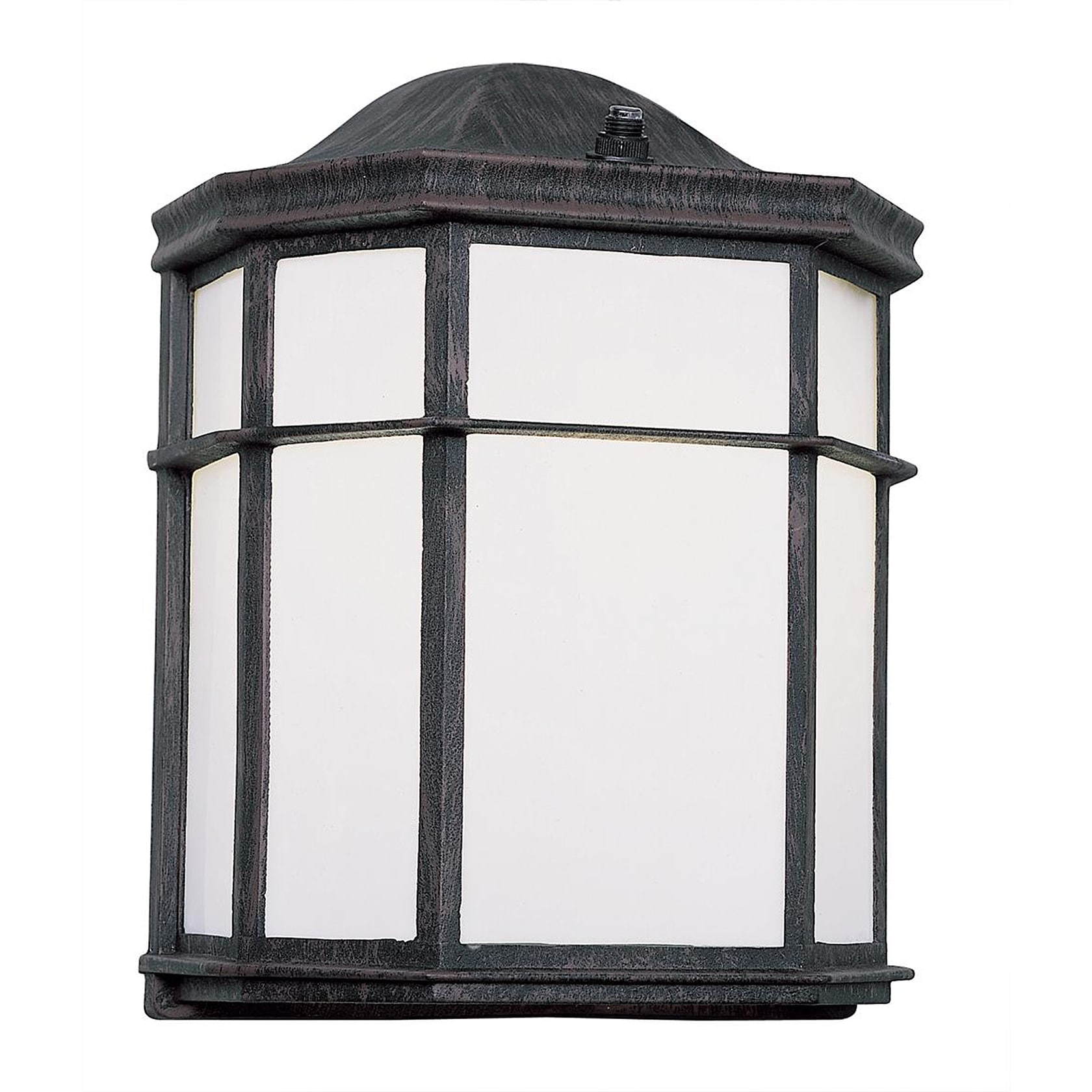 Bel Air Lighting CB-4484-BK 10-inch Black Pocket Mini Out...