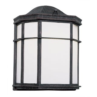 Bel Air Lighting CB-4484-BK 10-inch Black Pocket Mini Outdoor Light