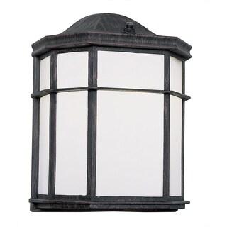 Bel Air Lighting CB-4484-BK 10-inch Black Pocket Mini Outdoor Light