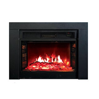 """Y Decor FP920 36"""" Electric Fireplace Insert in Black"""