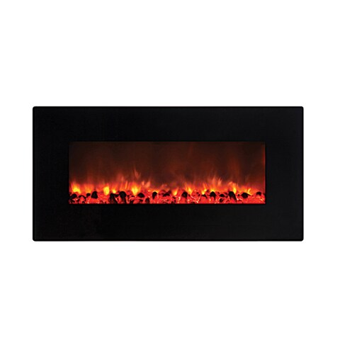 Y-Decor Gloss Black Finish Little Heater