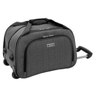 London Fog Chatham Collection 19-inch Grey Rolling Club Bag