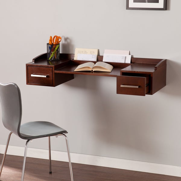 Harper Blvd Bradley Wall Mount Desk - Free Shipping Today - Overstock