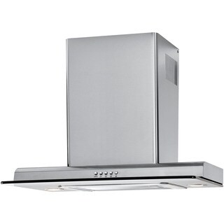 Haier Stainless-steel 24-inch 500cfm 3-speed Push-buton Chimney Vent Hood