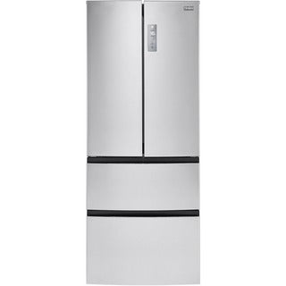 Haier 28-inch Wide 14.97-cubic foot 4-door French Door Bottom Mount Refrigerator