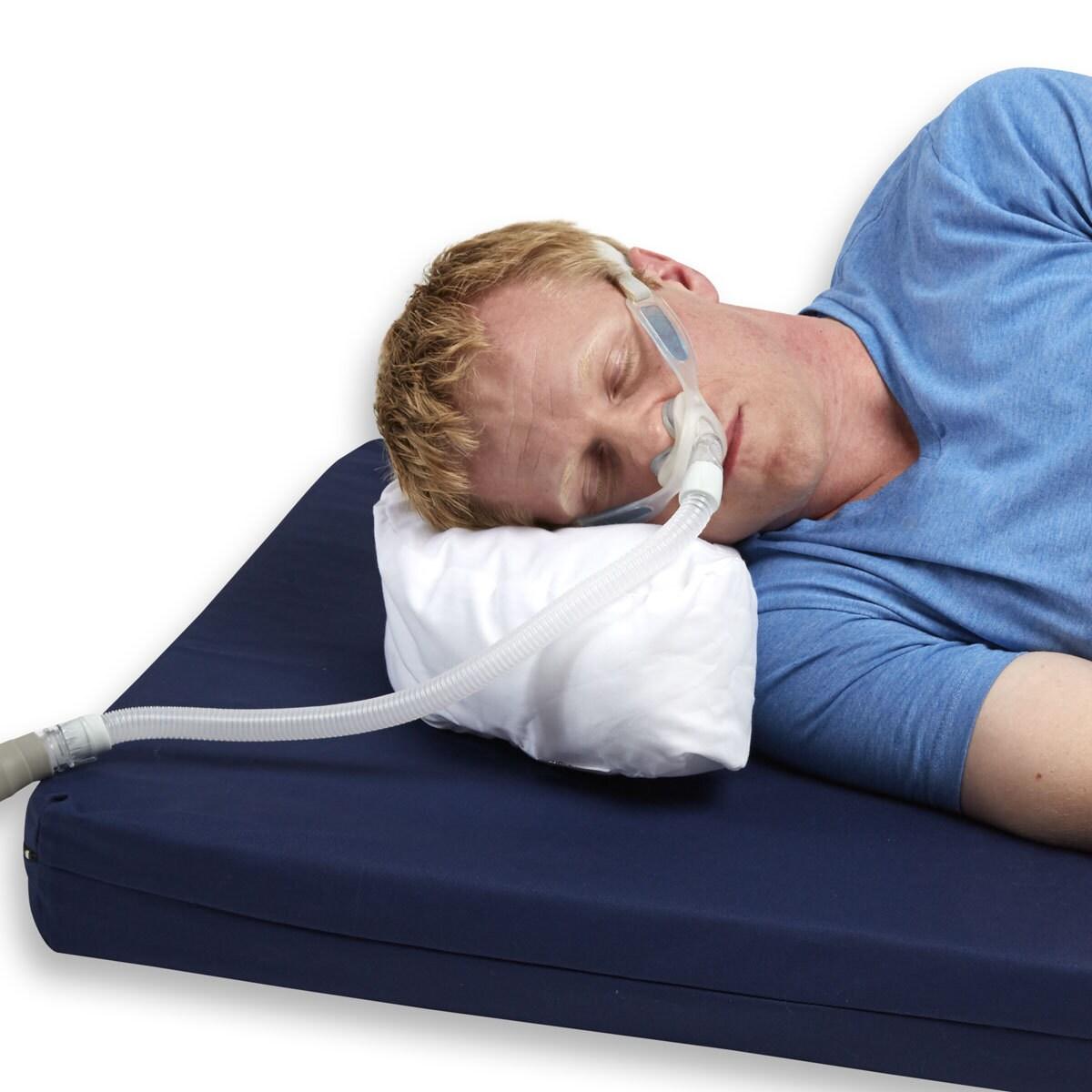 Hermell Mini Travel Cpap Sleep Apnea Pillow, Natural