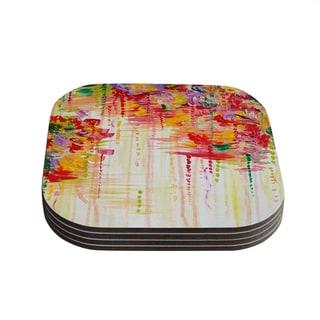 Kess InHouse Ebi Emporium 'Stormy Moods' Coasters (Set of 4)