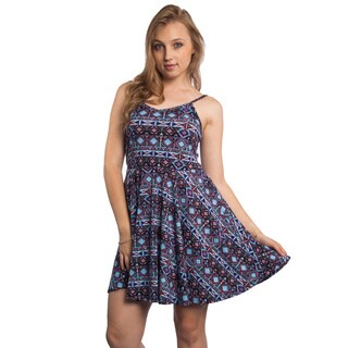 Special One Women's Summer Pleated Knee-length Skater Sun Dress