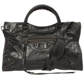 Balenciaga Classic City Lambskin Hand Carry and Shoulder Bag