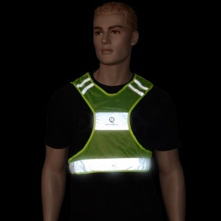 Safeways Neon Yellow LED Runner Vest