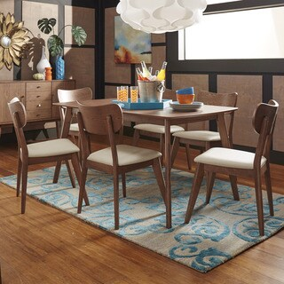 Penelope Danish Modern Walnut Dining Set by iNSPIRE Q Modern