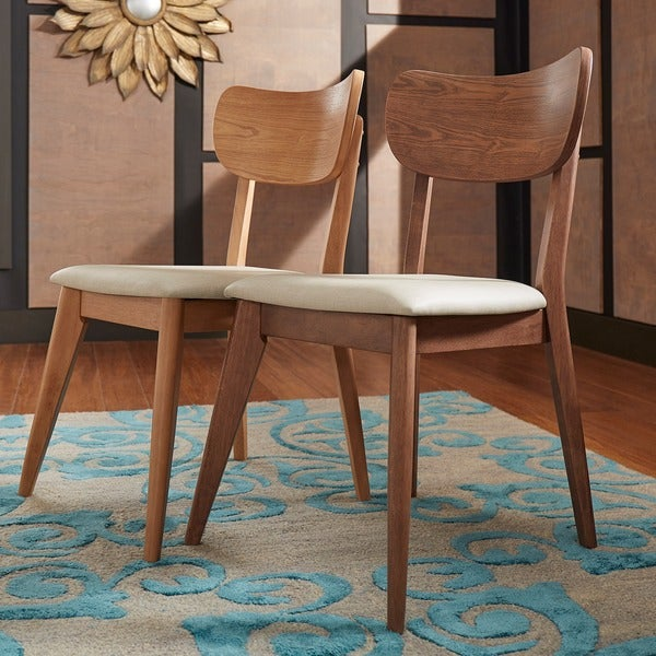 penelope danish modern tapered leg dining chair by mid