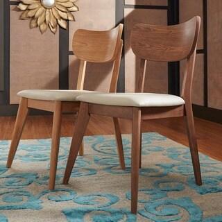 Penelope Danish Modern Tapered-leg Dining Chair (Set of 2) iNSPIRE Q Modern