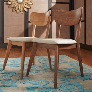 Penelope Danish Modern Tapered leg Dining Chair  Set of 2  iNSPIRE Q Modern. Mid Century Dining Room   Kitchen Chairs For Less   Overstock com