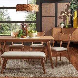 Penelope Danish Modern Natural Oak Dining Set INSPIRE Q Modern