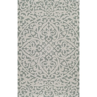 Hand-Hooked South Beach Venetian Indoor/ Outdoor Polypropylene Rug (2' x 3')