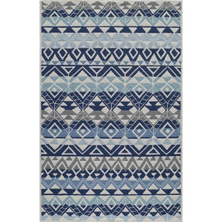 Momeni Veranda Multicolor Mahalo Indoor/Outdoor Rug (2' X 3') - 2' x 3'