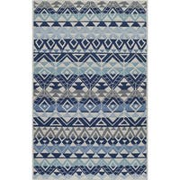 Momeni Veranda Multicolor Mahalo Indoor/Outdoor Rug (8' X 10') - 8' x 10'
