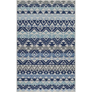 Momeni Veranda Multicolor Mahalo Indoor/Outdoor Rug (8' X 10')