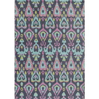 Hand-Tufted Softique Finnoula Multi Polyester Rug (7'6 x 9'6)