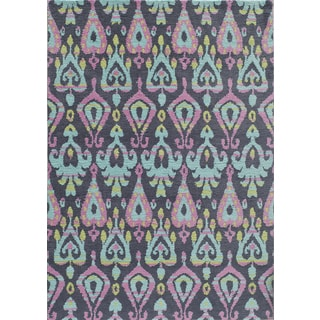 Hand-Tufted Softique Finnoula Multi Polyester Rug (3' x 5')