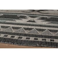 "Momeni Baja Canyon Sage Indoor/Outdoor Area Rug - 1'8"" x 3'7"""