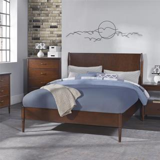 Dorel Living Brook Lane Walnut Queen Bed