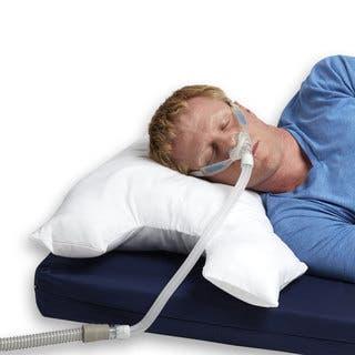 Breatheasy CPAP Sleep Apnea Pillow|https://ak1.ostkcdn.com/images/products/11808089/P18716159.jpg?impolicy=medium
