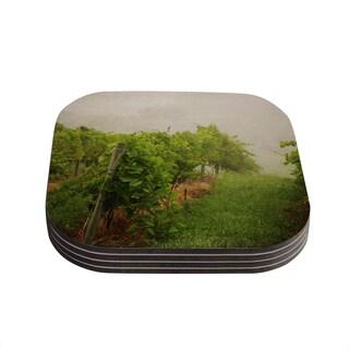 Kess InHouse Angie Turner 'Grape Vines' Foggy Coasters (Set of 4)