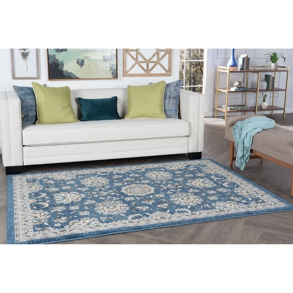Alise Rugs Kinsley Traditional Oriental Area Rug - 7'10 x 10'3