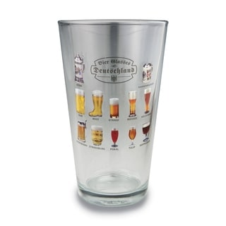 Versil Bier Glasses of the World Pint Glass