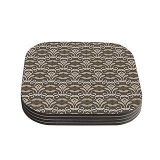 Kess InHouse Julia Grifol 'Deco' Coasters (Set of 4)