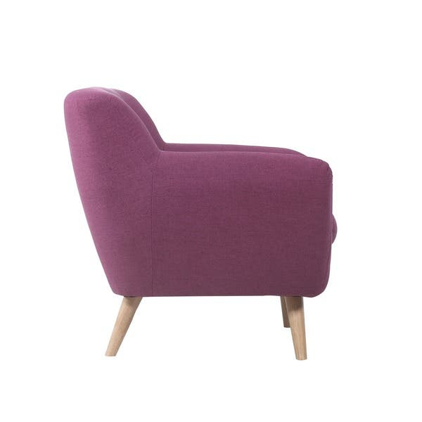 Incredible Shop Mid Century Modern Tufted Linen Fabric Accent Chair Gamerscity Chair Design For Home Gamerscityorg