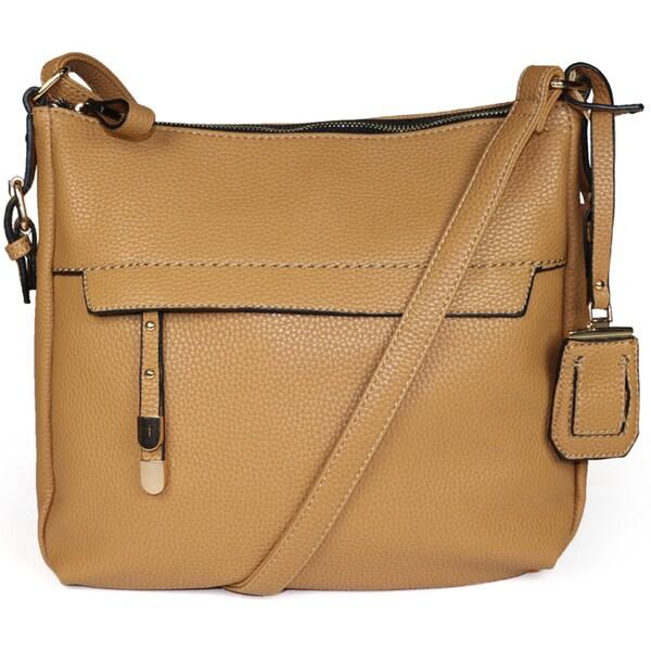 55ced42514 Shop La Diva Sandra Crossbody Handbag - Free Shipping Today ...
