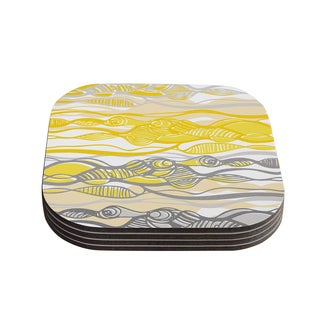 Kess InHouse Gill Eggleston 'Kalahari' Coasters (Set of 4)