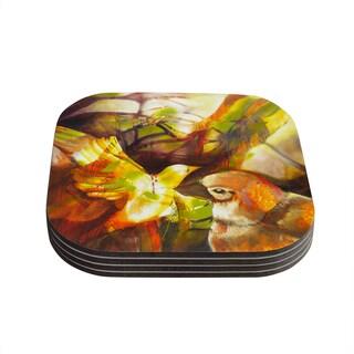 Kess InHouse Kristin Humphrey 'Memory' Coasters (Set of 4)