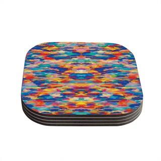 Kess InHouse Kathryn Pledger 'Cloud Nine' Coasters (Set of 4)