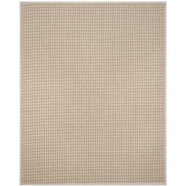 Safavieh Casual Natural Fiber Handmade Light Grey Sisal