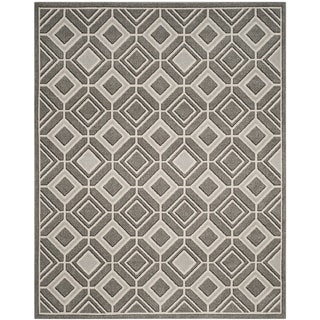Safavieh Amherst Geneva Modern Indoor/ Outdoor Rug (6' x 9' - Grey/Light Grey)