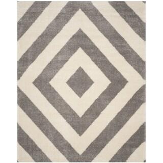 Safavieh Persian Tribals Ivory/ Grey Rug (6' 7 x 9' 2)