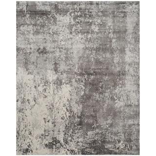 Safavieh Handmade Mirage Modern Watercolor Grey Wool Rug (6' x 9')