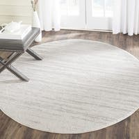 Safavieh Adirondack Vintage Ombre Ivory / Silver Rug - 4' Round