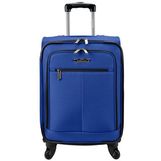 Traveler's Choice 19-inch Expandable Upright Carry-On Spinner Suitcase