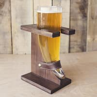 Personalized 16 oz. Viking Knot Rustic Beer Horn - 16 oz.